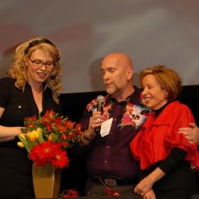 Celebrity Flower Arranging - Enza