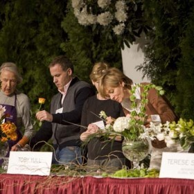 Celebrity Flower Arranging - Toby Yull and more