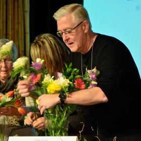 Celebrity Flower Arranging - David Ouzounian