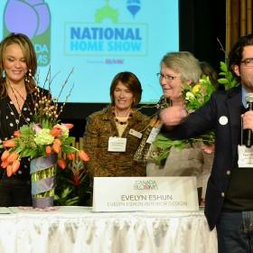 Celebrity Flower Arranging - Evelyn Eshun
