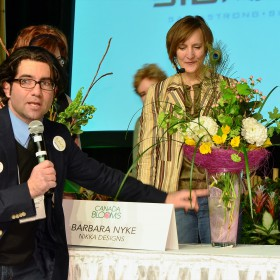 Celebrity Flower Arranging - Barbra Nyke, Nikka Design
