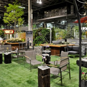 Canada Blooms Lounge/Creative Gardens