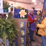 Volunteers at Canada Blooms