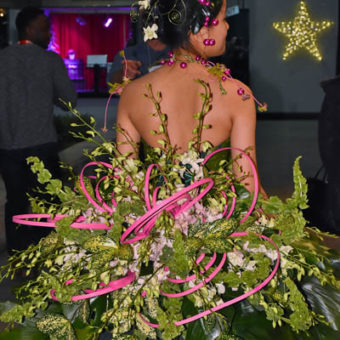 CAFA Couture Floral Fashion Show