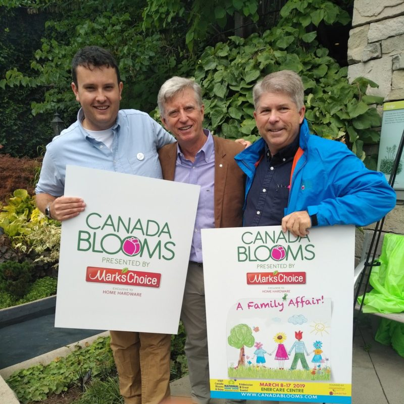 Mark's Choice Title Sponsor of Canada Blooms