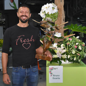 Bruno Duarte, Floral Artitst of the Year Winner 2019
