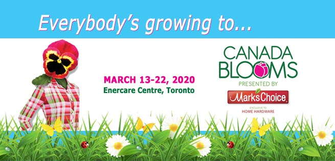 Canada Blooms Newsletter Header Summer 2019