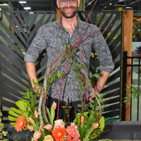 Joseph Delarge, Floral Designer of the Year Winner 2018