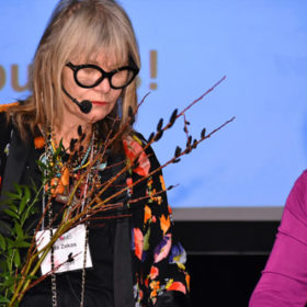 Celebrity Flower Arranging - Rita Zekas, Toronto Star