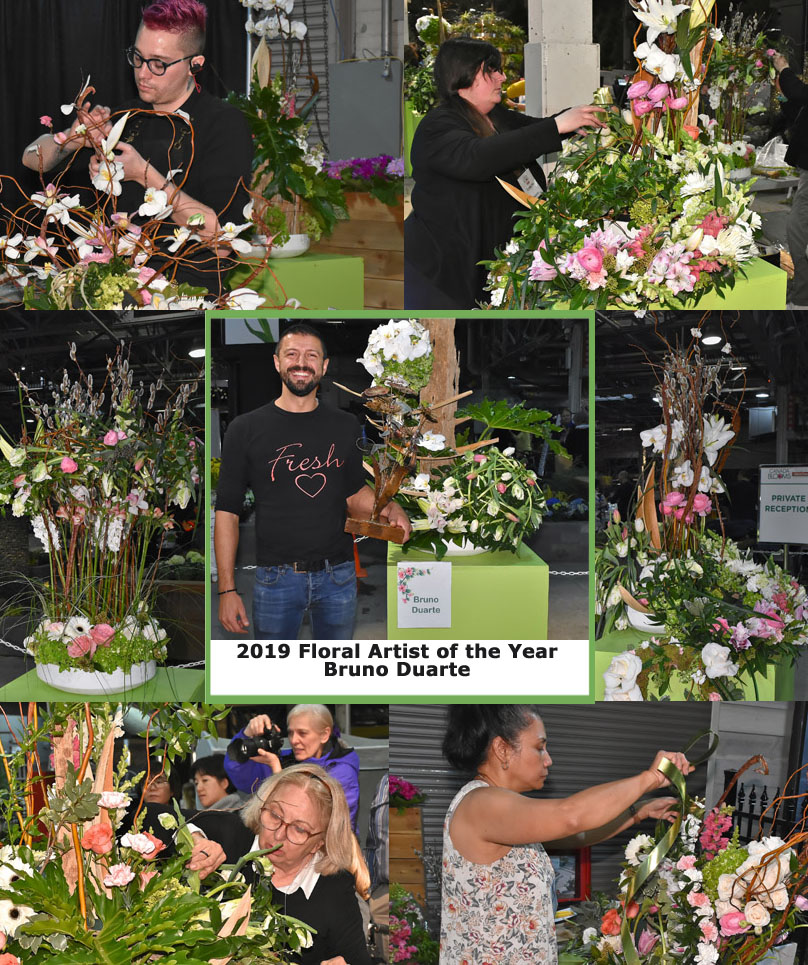 Canada Blooms Floral Artist of the Year 2019
