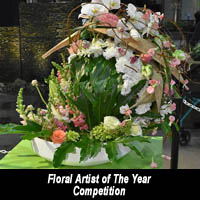 Floral Artist of the Year at Canada Blooms
