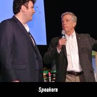 Speakers at Canada Blooms