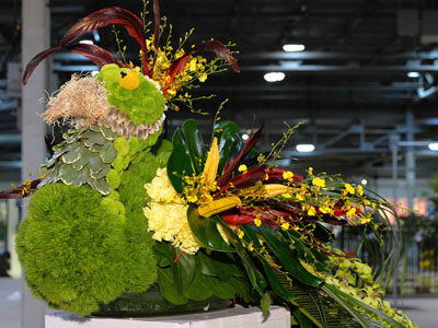 Brad Higginson 2020 Floral Design Canada Blooms