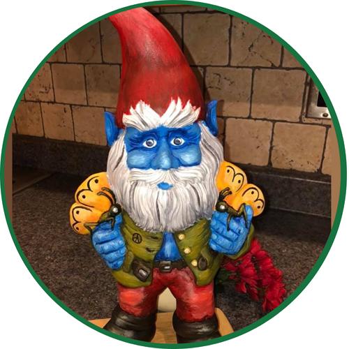 Papa Gnome by Tanja Taylor