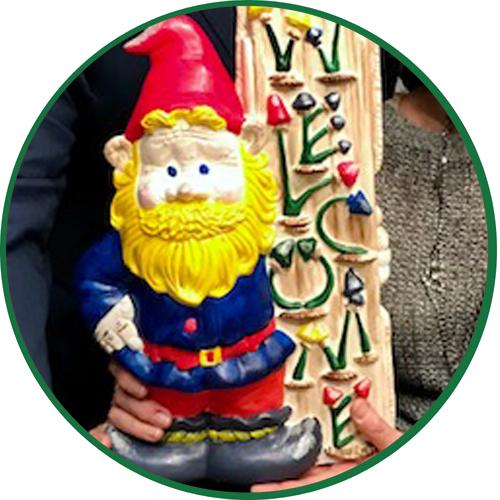 Pride Gnome by Colin Mochrie & Deb McGrath