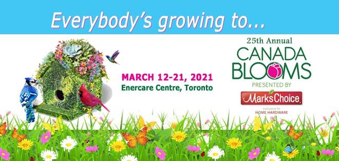 Canada Blooms Newsletter Header Summer 2020