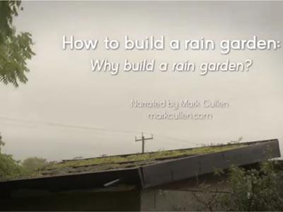 How to build a rain garden video 1