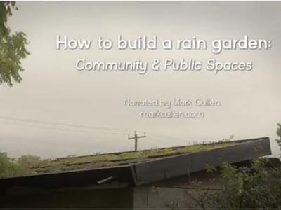 How to build a Rain Garden Video 2