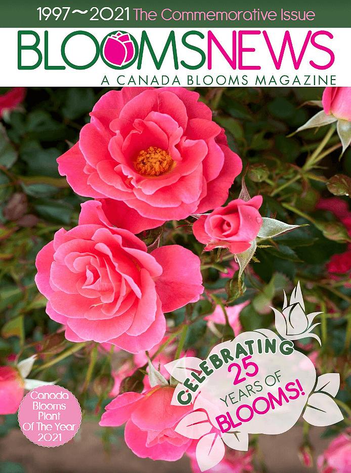 Canada Blooms 25th Anniversary Magazine