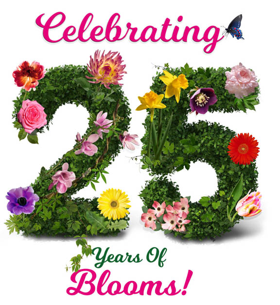 Celebrating 25 Years of Blooms