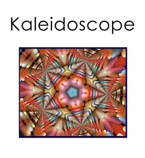 Kaleidoscope: A Virtual Floral Art Show