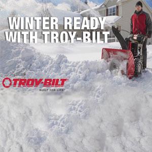Troy Bilt Getting Winter Ready